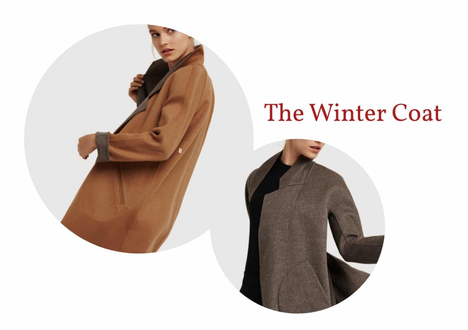 Reversible winter coat
