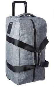 Herschel Supply Co. Wheelie Outfitter Duffle Bag Heather Grey