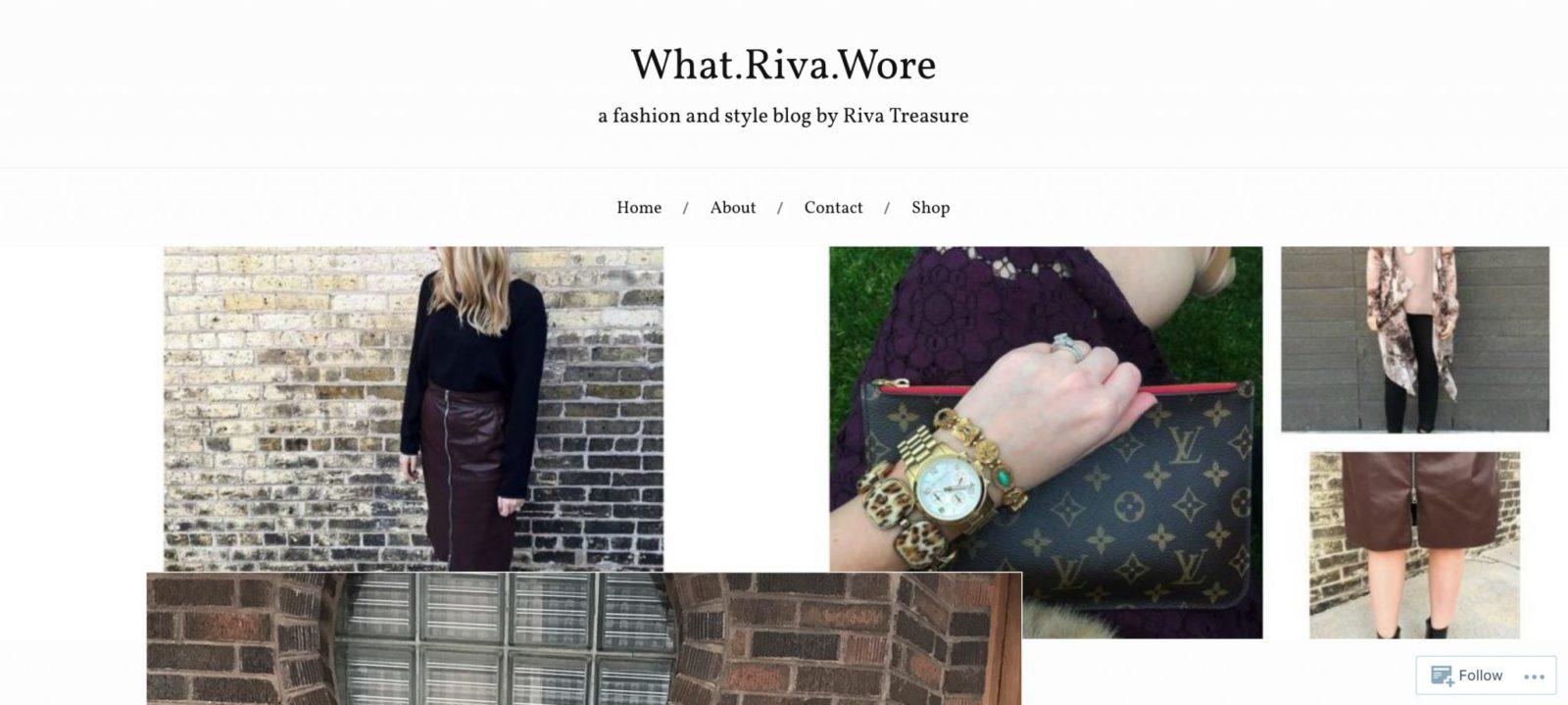 what-riva-wore
