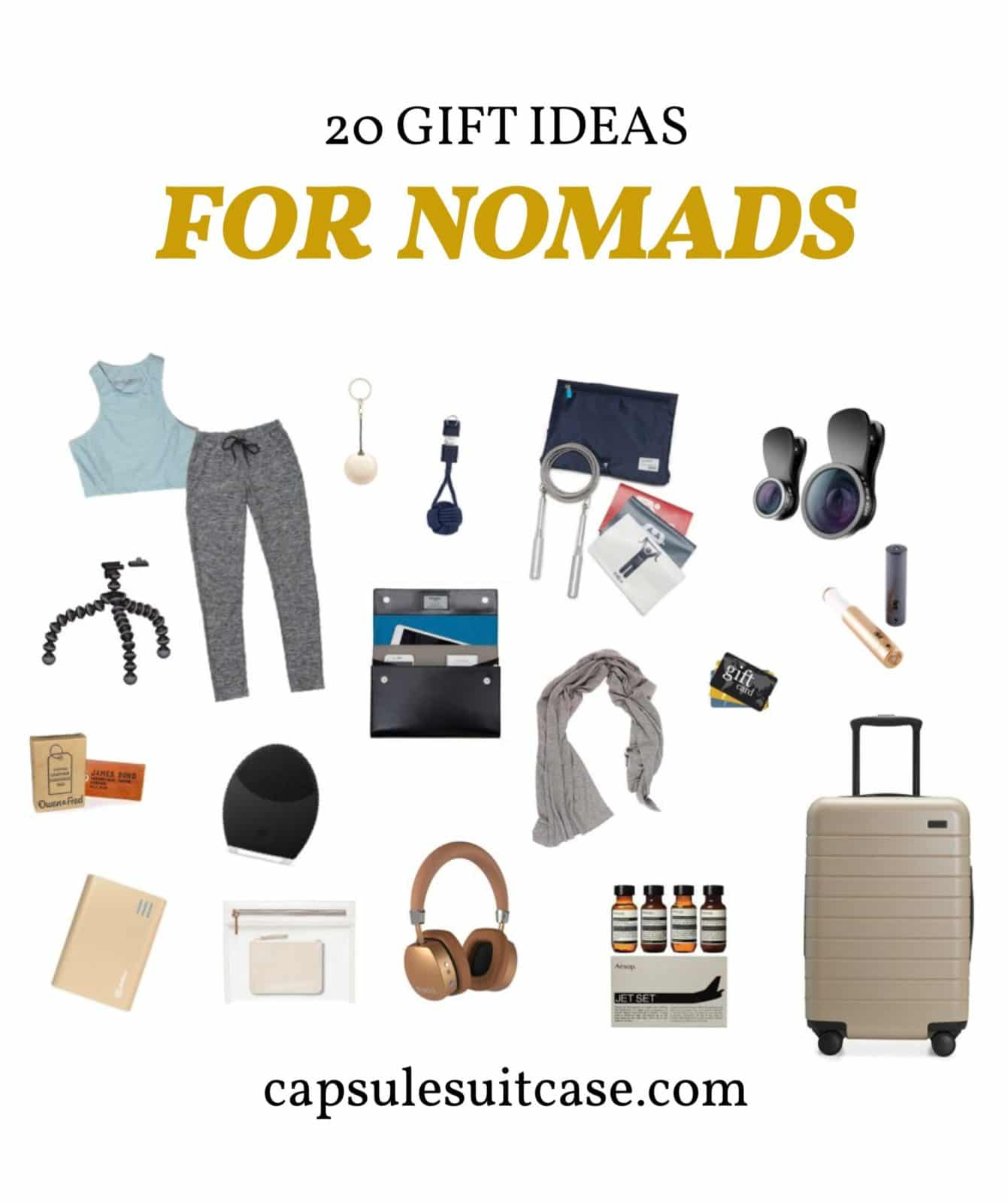 nomad travel gift guide