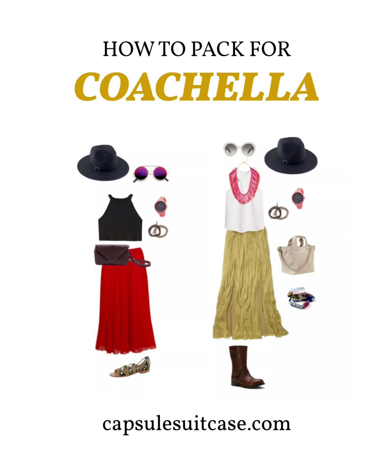 how to pack for coachella