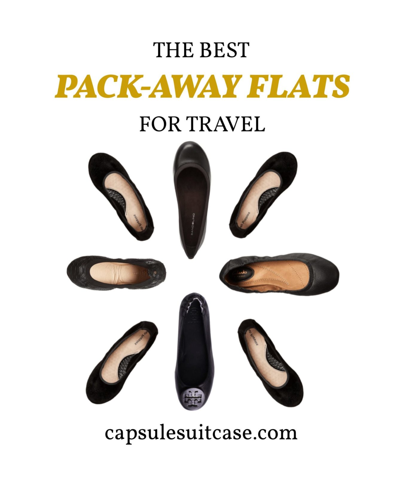travel ballet flats