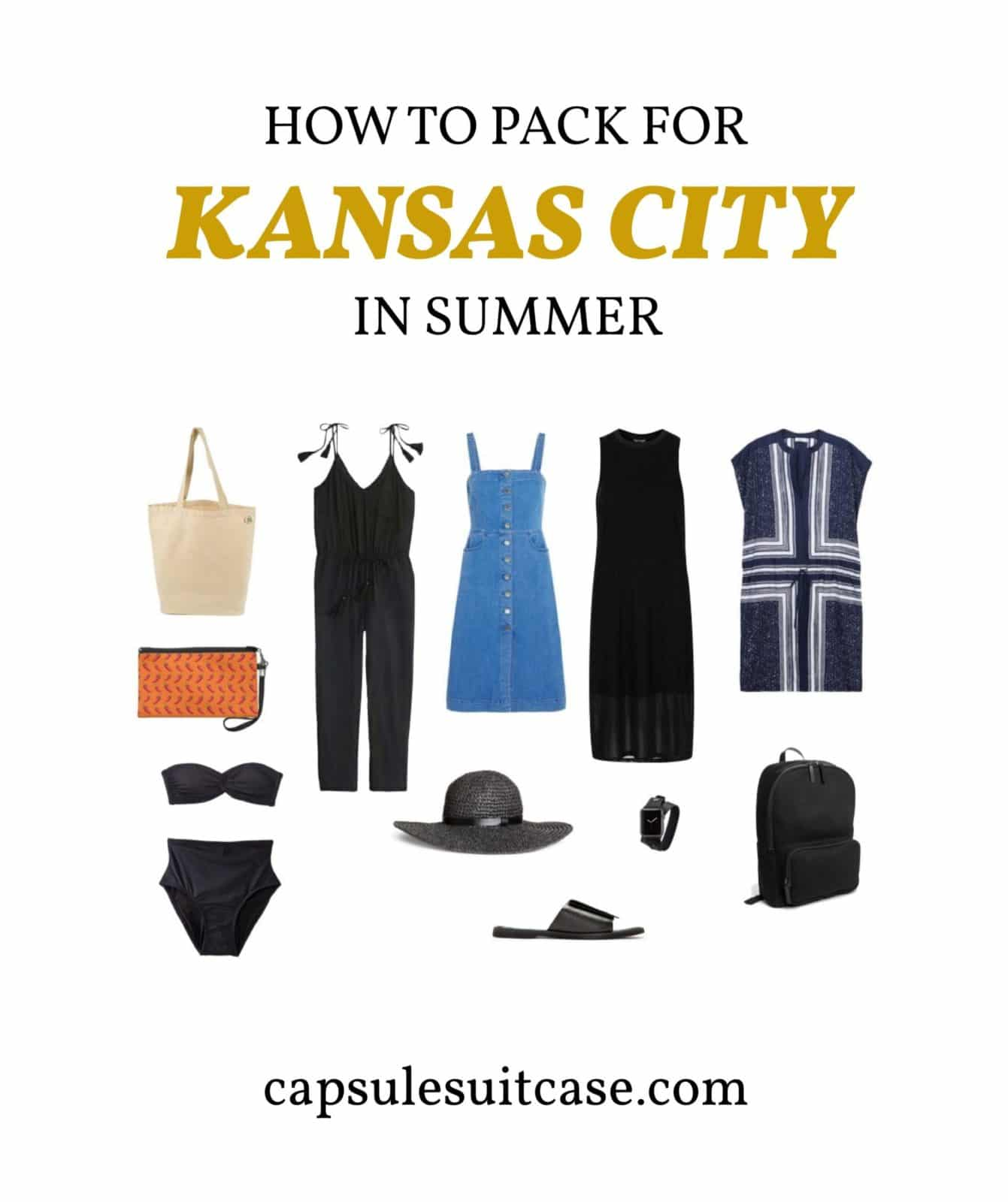 How to pack for kansas city summer