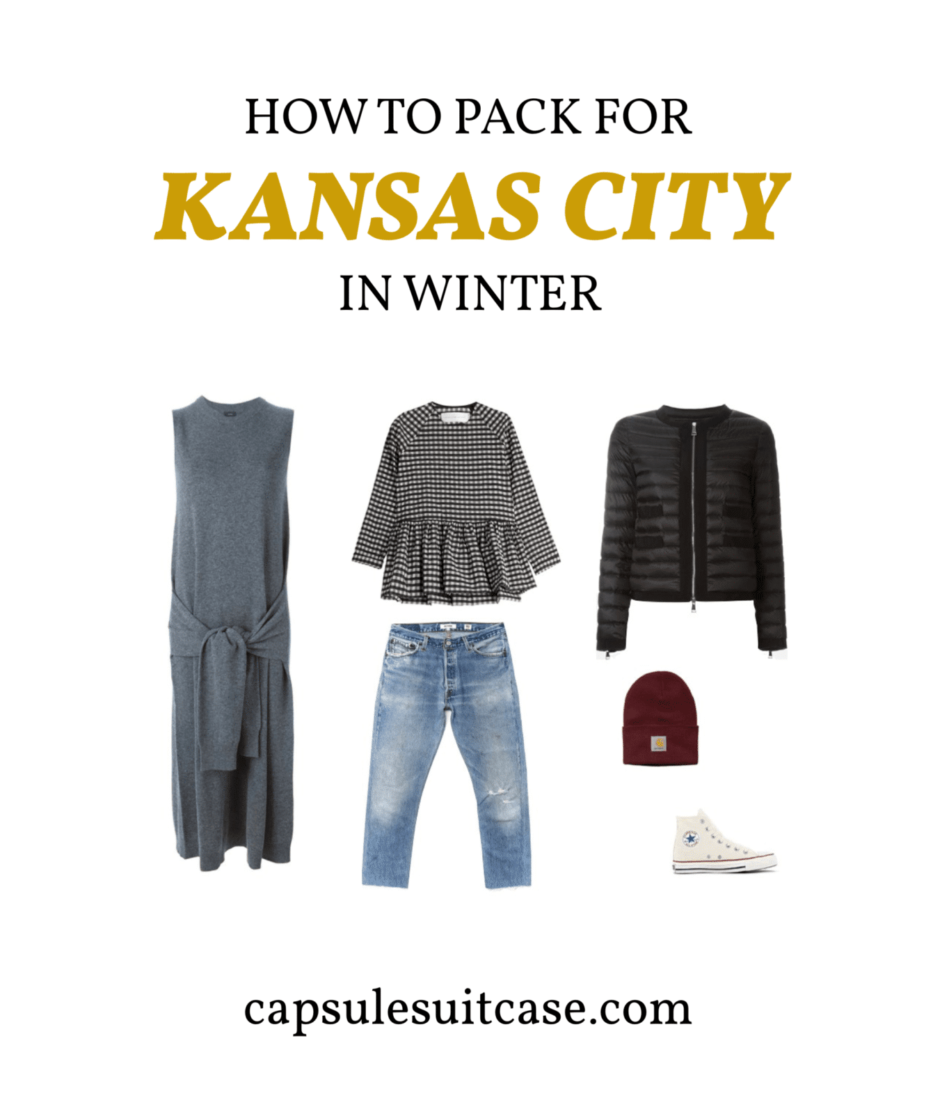 how to pack for kansas city winter