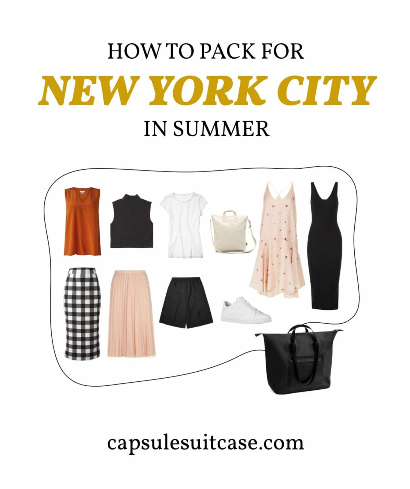 how to pack for new york summer