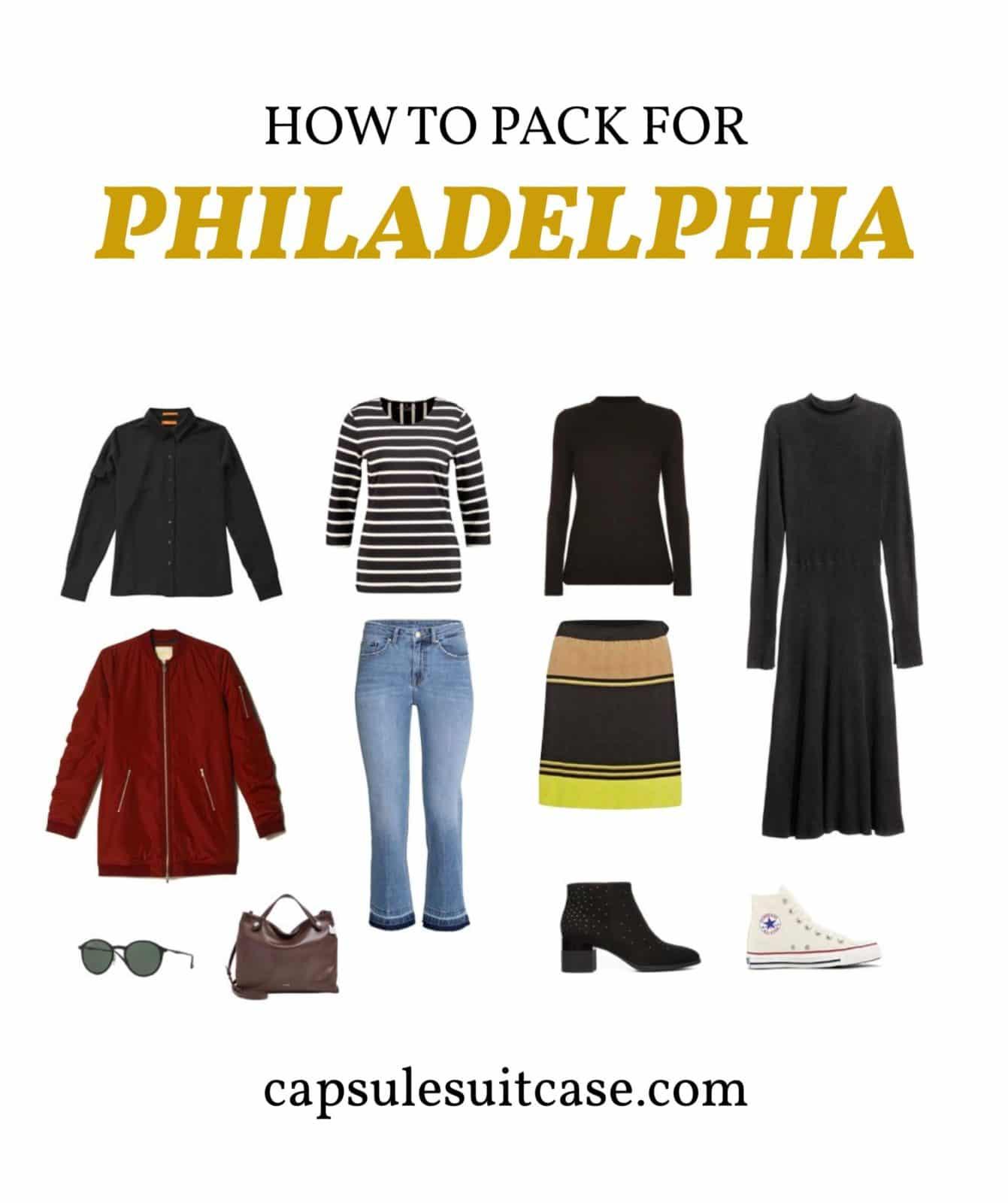 how to pack for philadelphia
