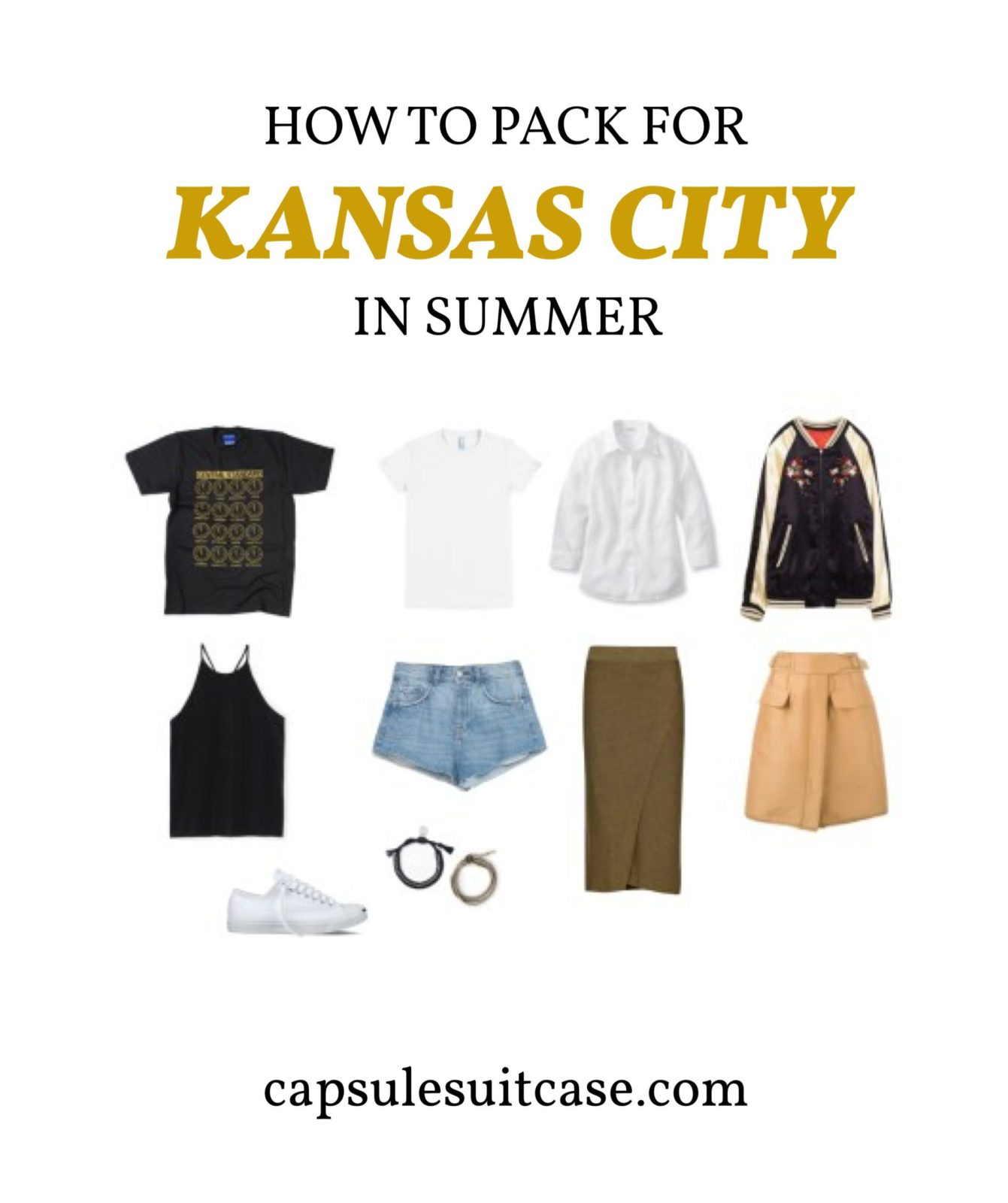 how to pack for Kansas City