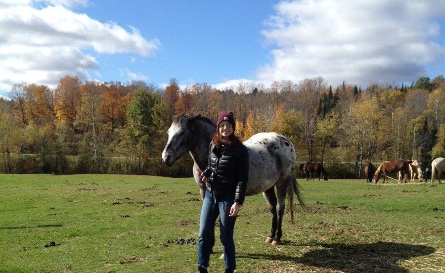 horseback riding Magog