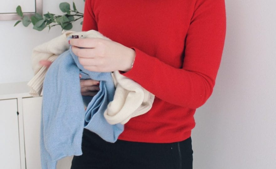 how to shop for a great sweater