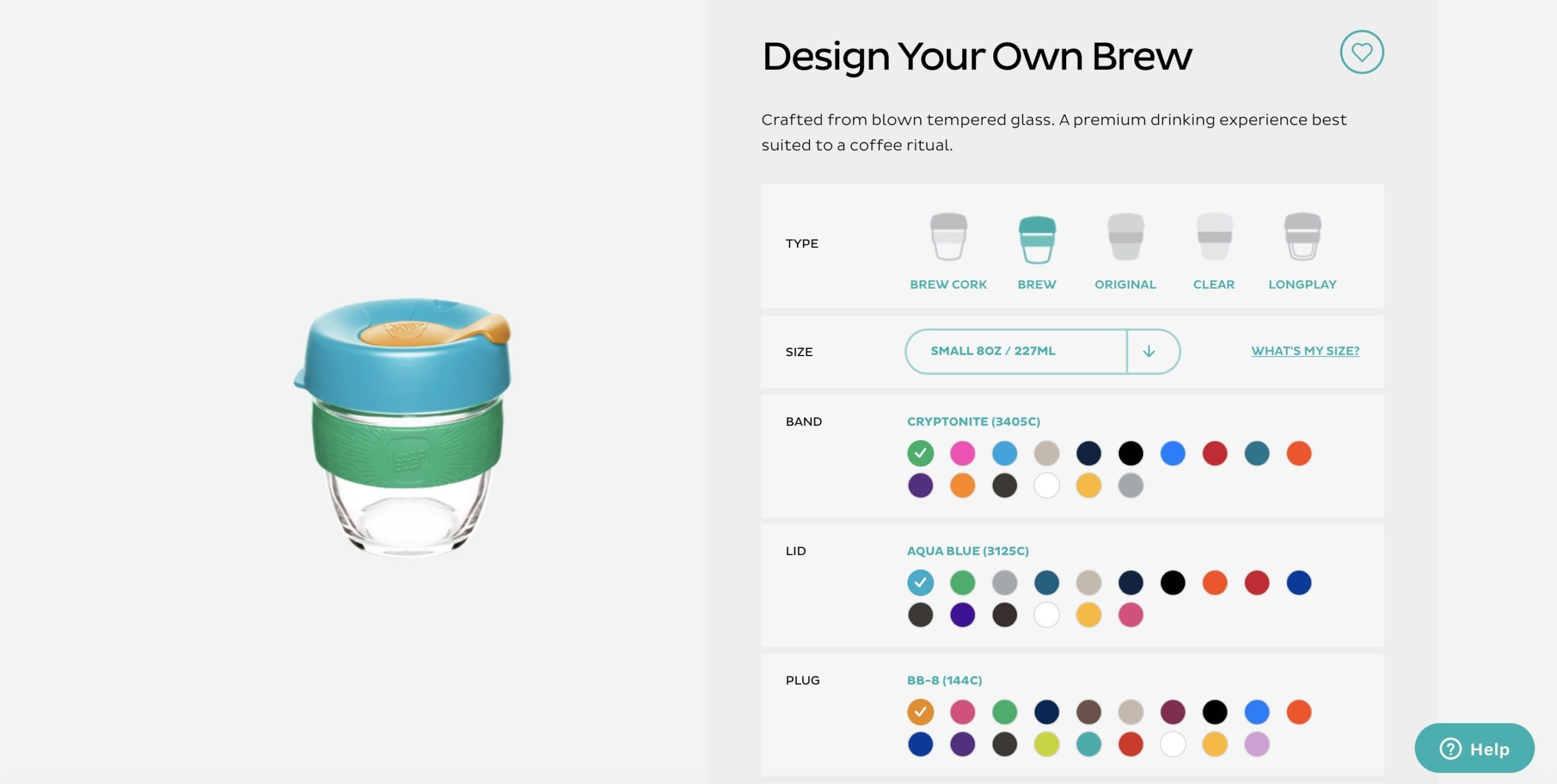 customisable coffee cup keep cup