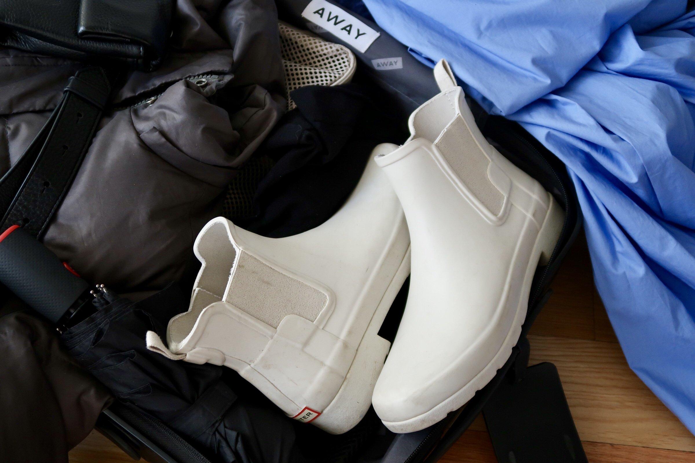footwear spring packing