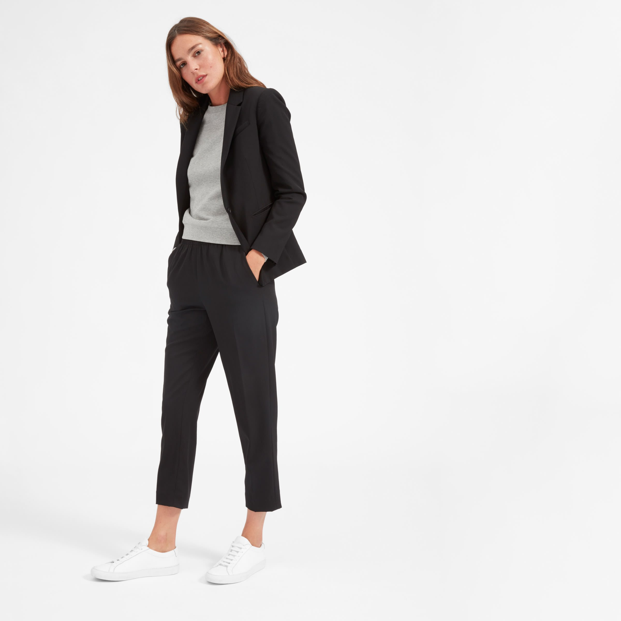 Everlane travel-friendly suits creaseless