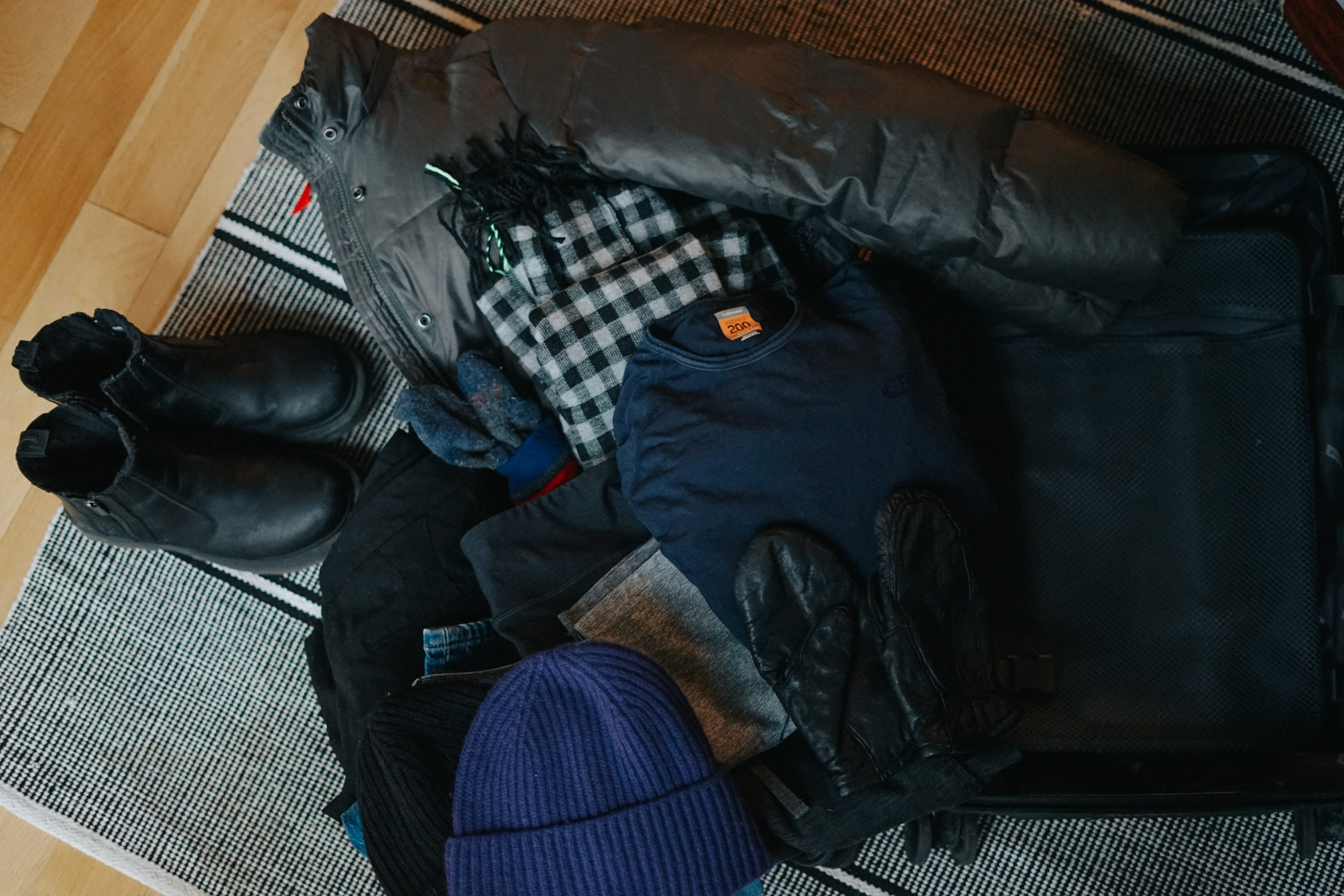 packing for winter