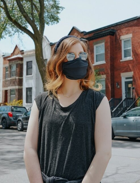 wear a cloth face mask travel