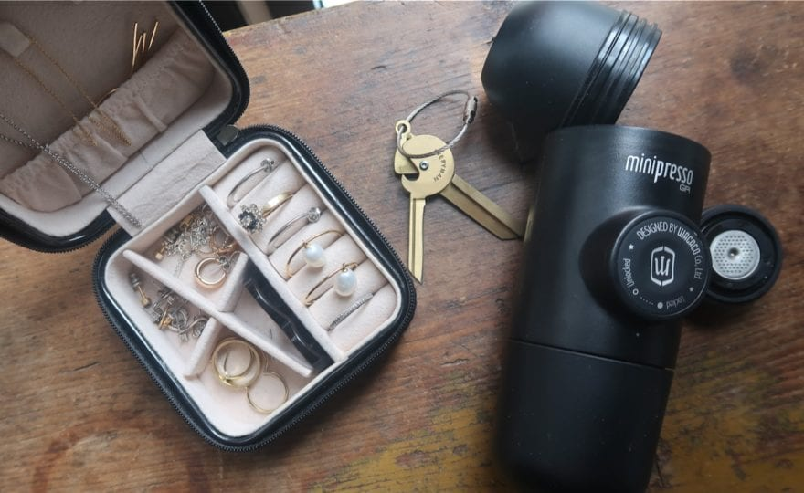 travel items to use at home