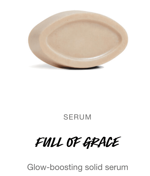 solid beauty products face serum