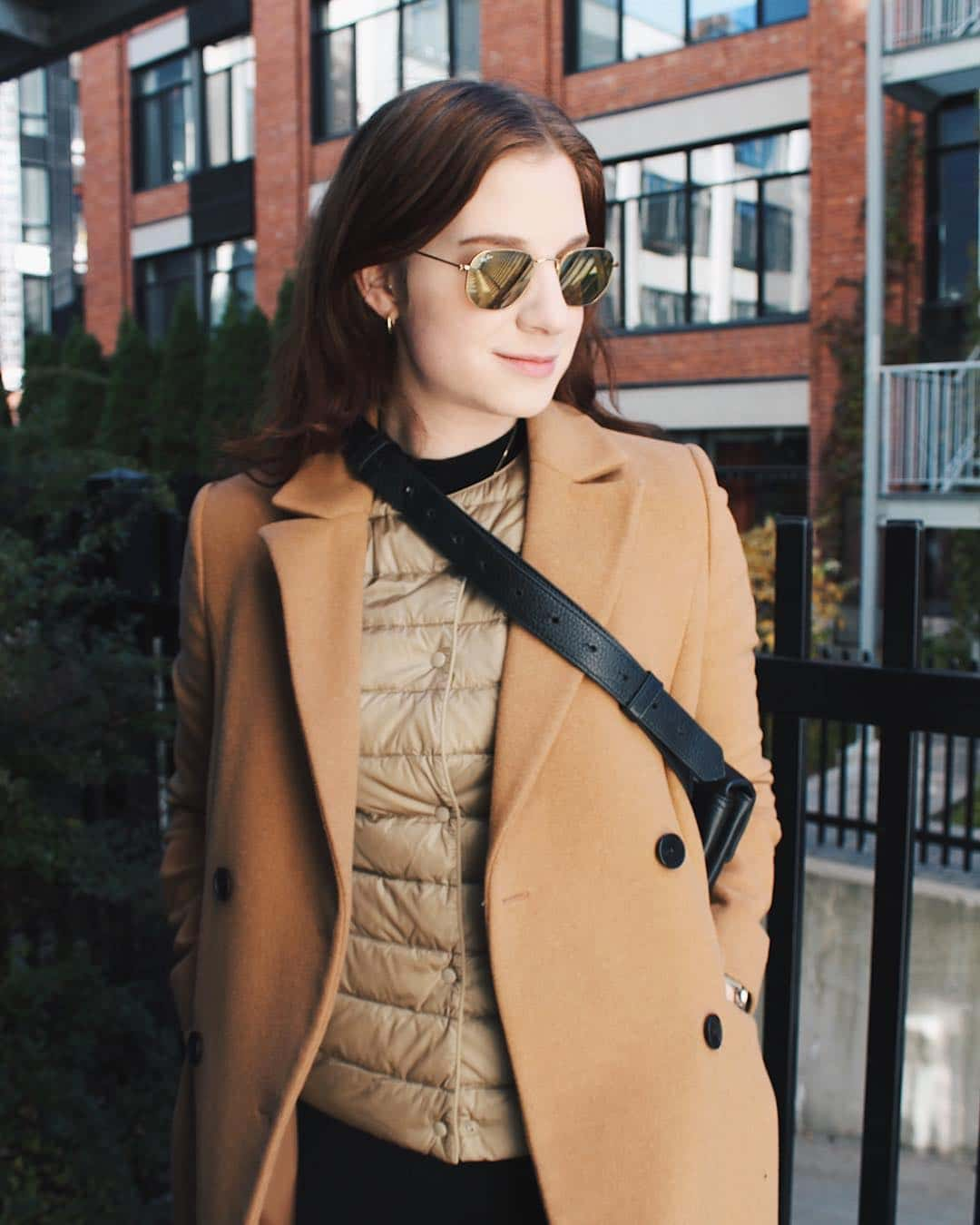 Layering for winter travel